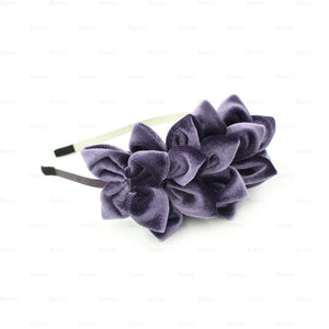 Tufted-Flower-Headband Headband Manière