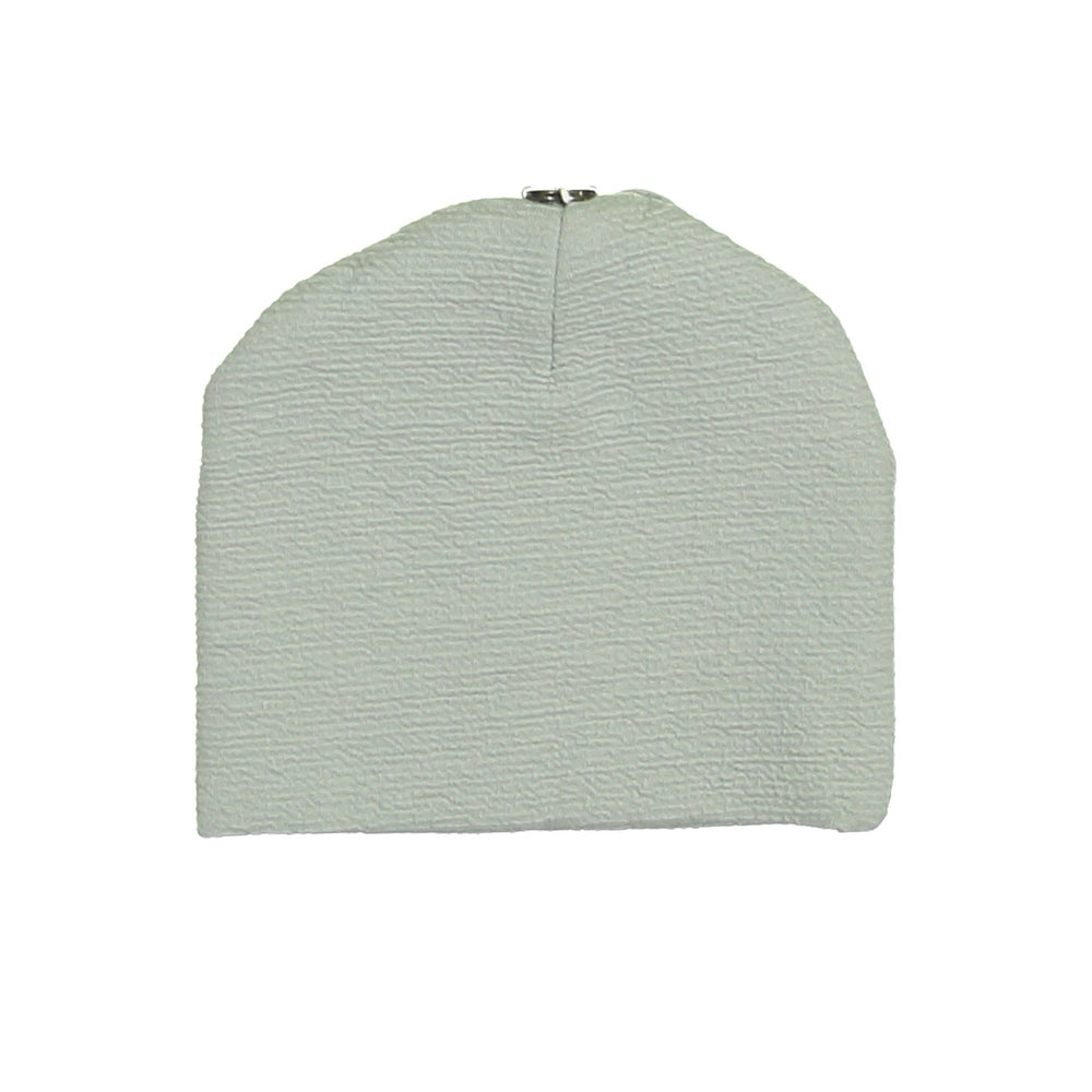 Texture Mix Beanie Maniere Accessories Grey 3 Months