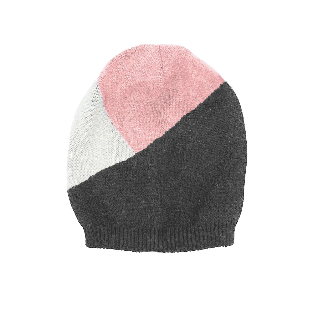 Triangle Color Block Hat Winter Hat Manière