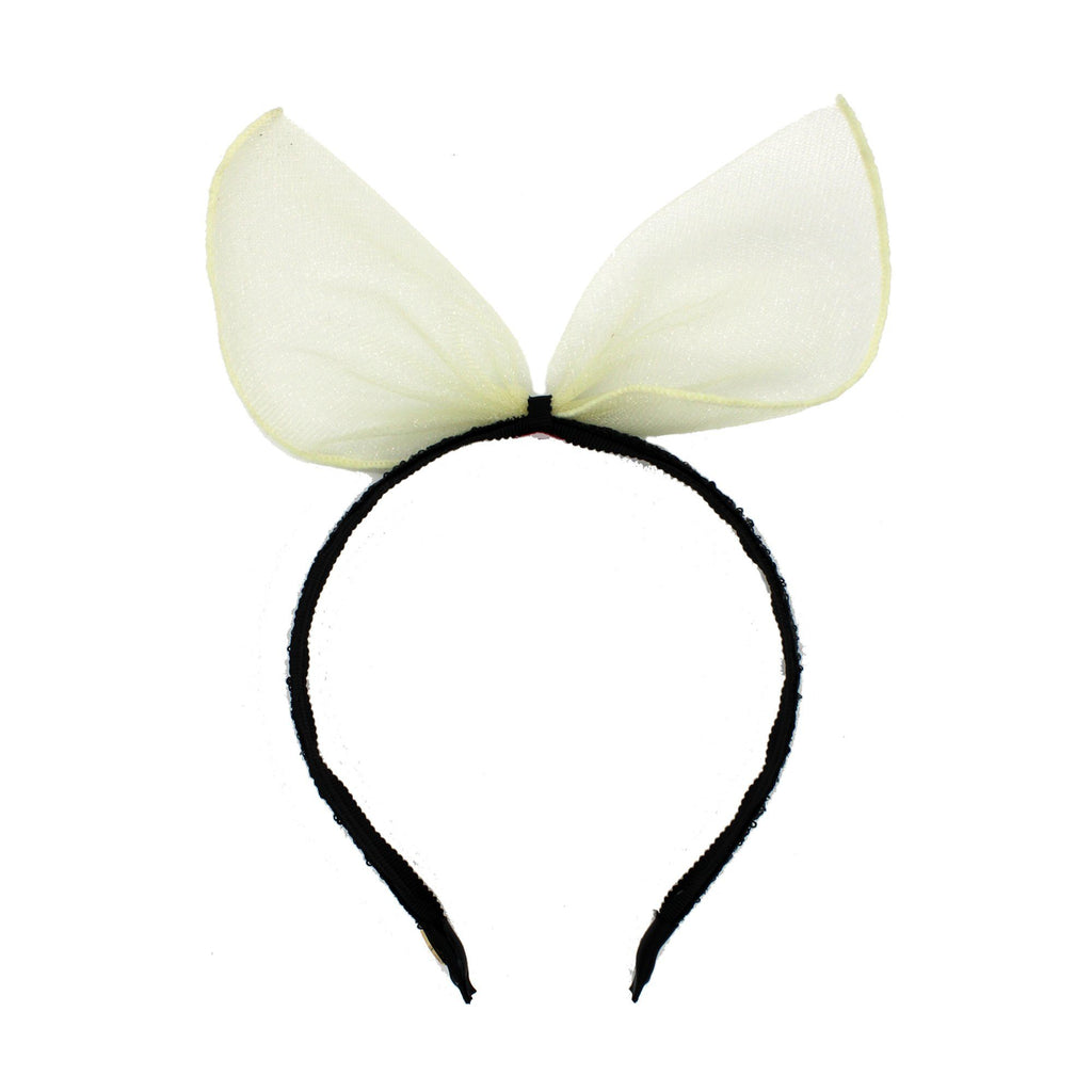 Tulle Whisp Bow Band
