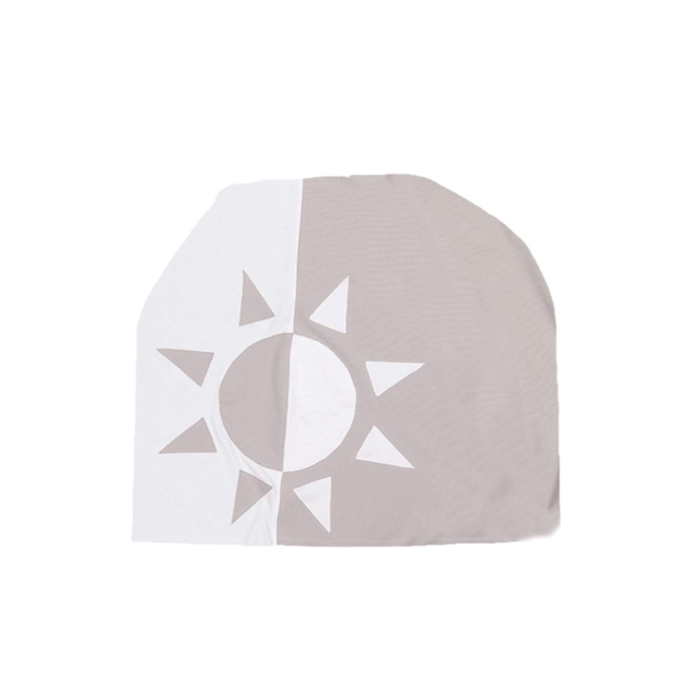 Load image into Gallery viewer, Whimsical Shape Beanie (no pom) Maniere Accessories