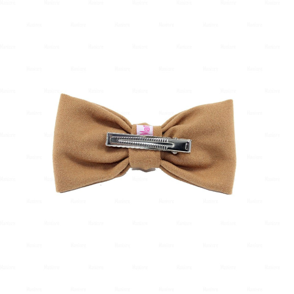 Wool Kay Knot Clip Hair Clip Manière