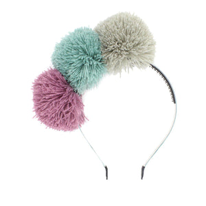 Yarn Pop Headband Headband Manière Blue