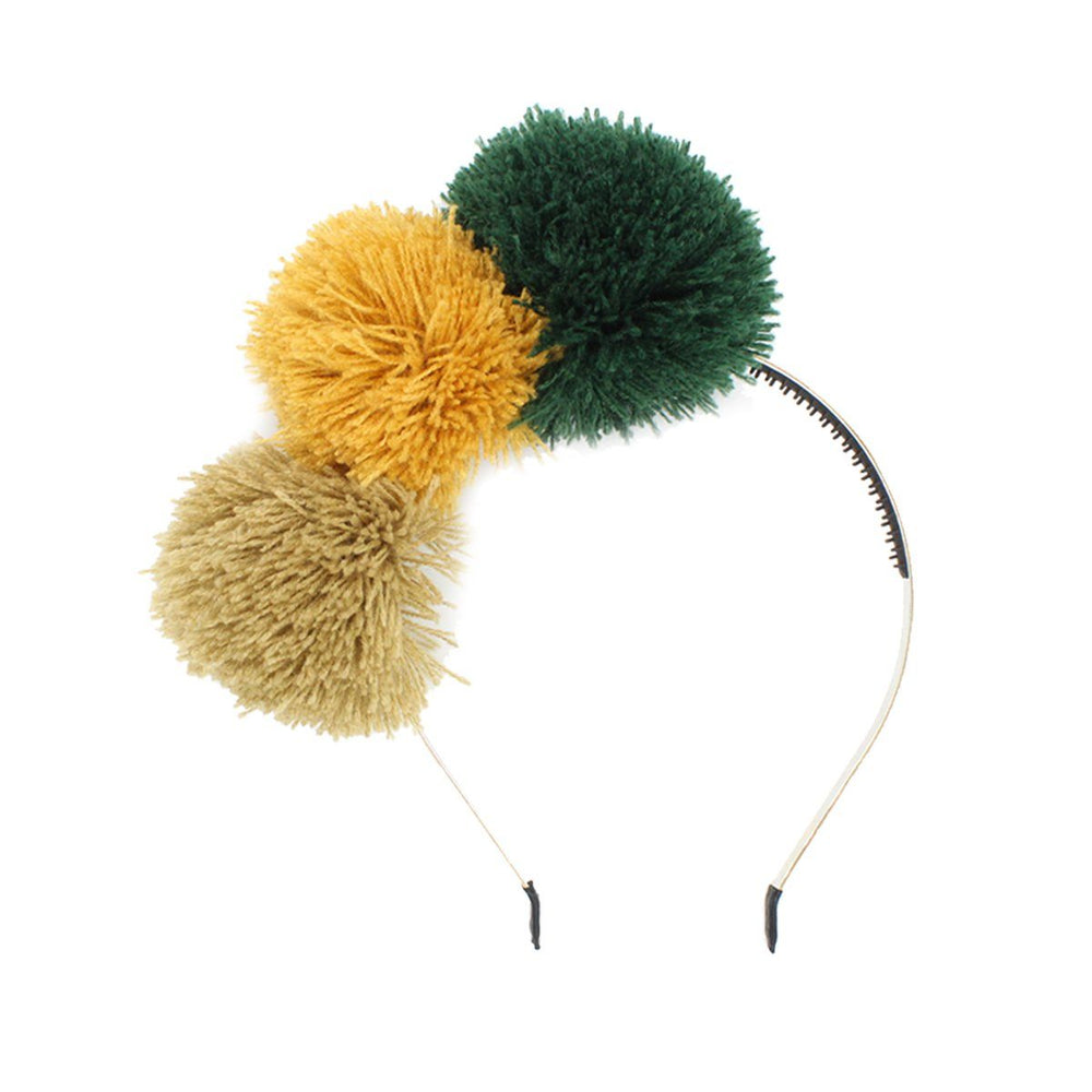 Load image into Gallery viewer, Yarn Pop Headband Headband Manière Mustard