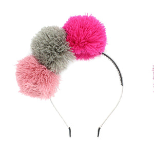 Yarn Pop Headband Headband Manière Pink