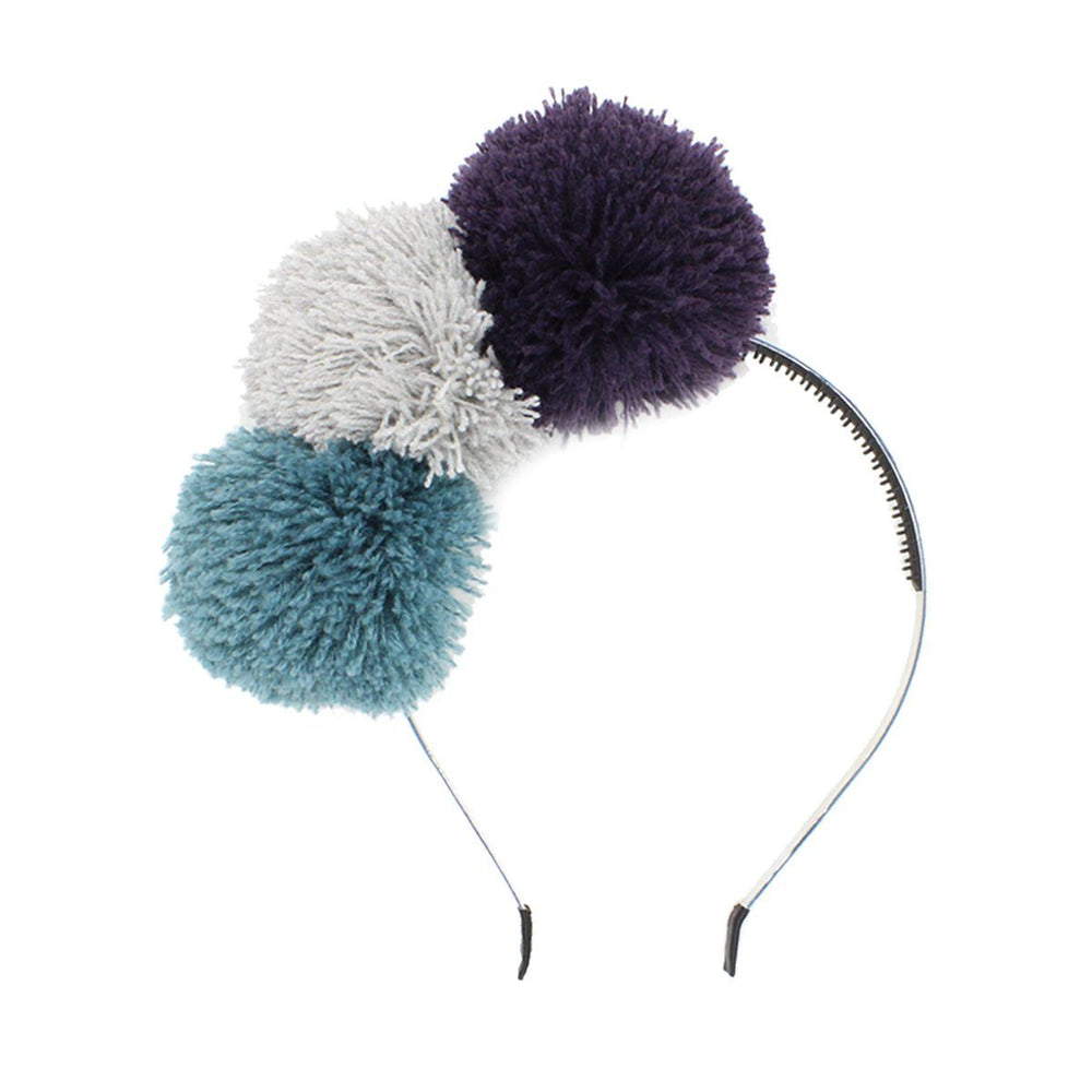 Yarn Pop Headband Headband Manière Purple