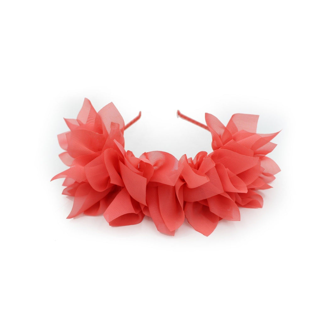 Soft Petals Band Maniere Accessories Hot Red