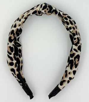 Animal Print KayKnot Headband Maniere Accessories Jaguar