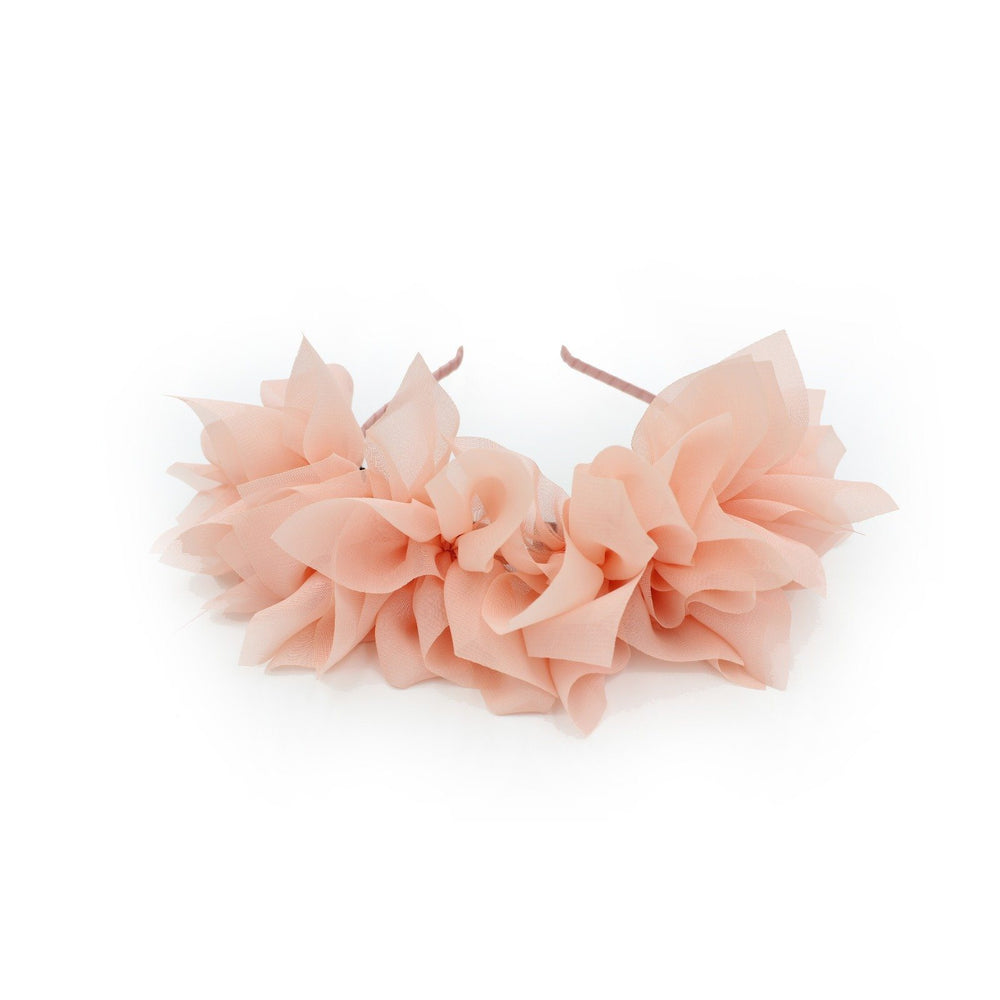 Soft Petals Band Maniere Accessories Coral