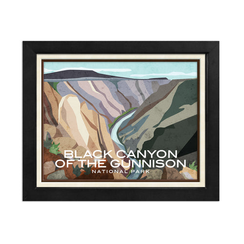 Black Canyon of the Gunnison National Park Print