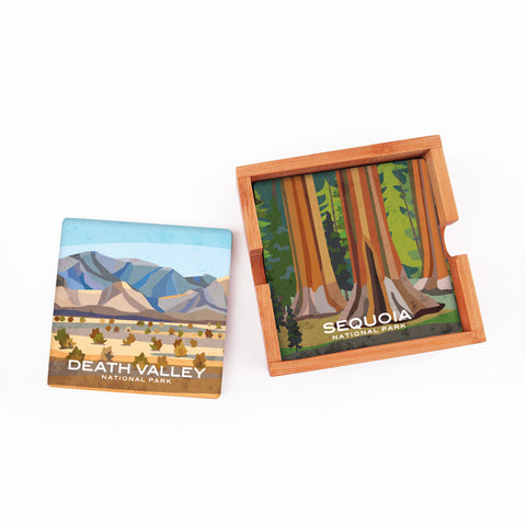 California National Parks Coaster Set