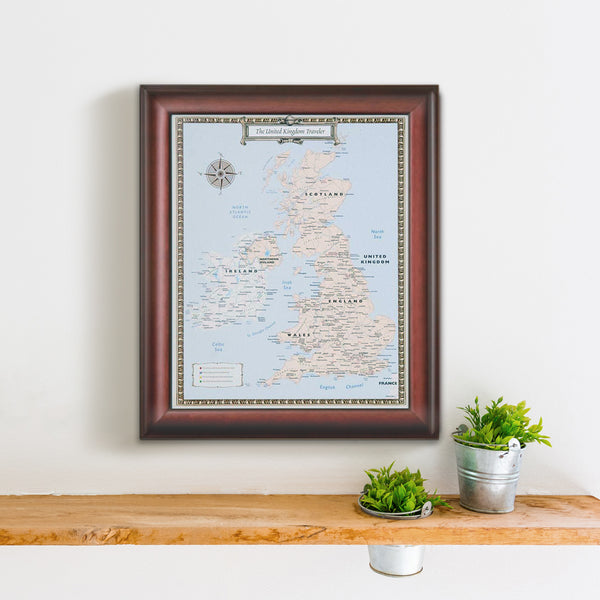 United Kingdom Travel Quest Map