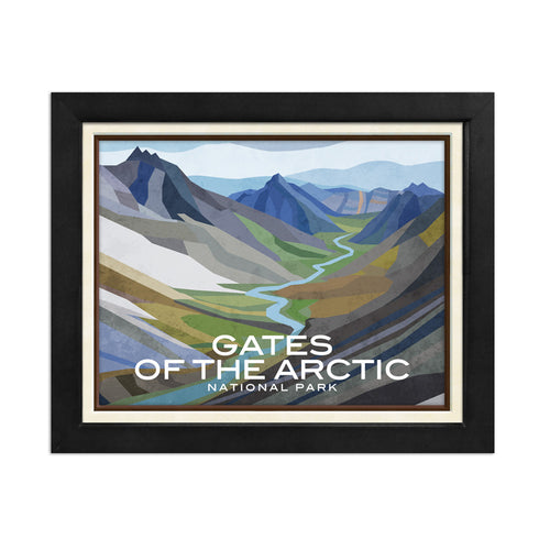 Gates of the Arctic National Park Print