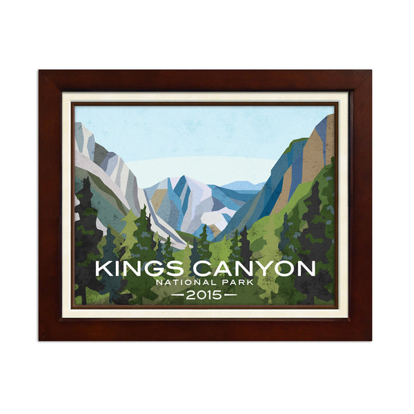Kings Canyon National Park Print