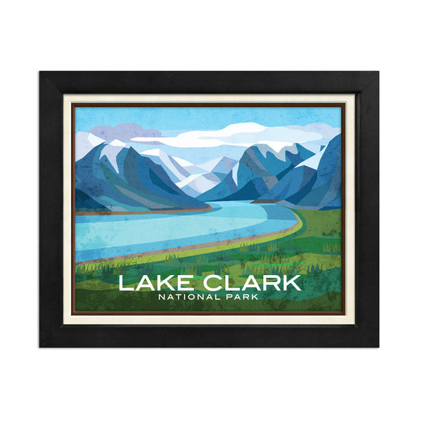 Lake Clark National Park Print