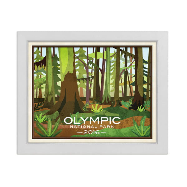 Olympic National Park Print