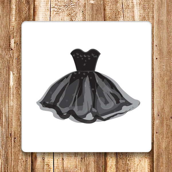 Little Black Dress Coasters