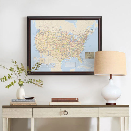 Personalized US Travel Map