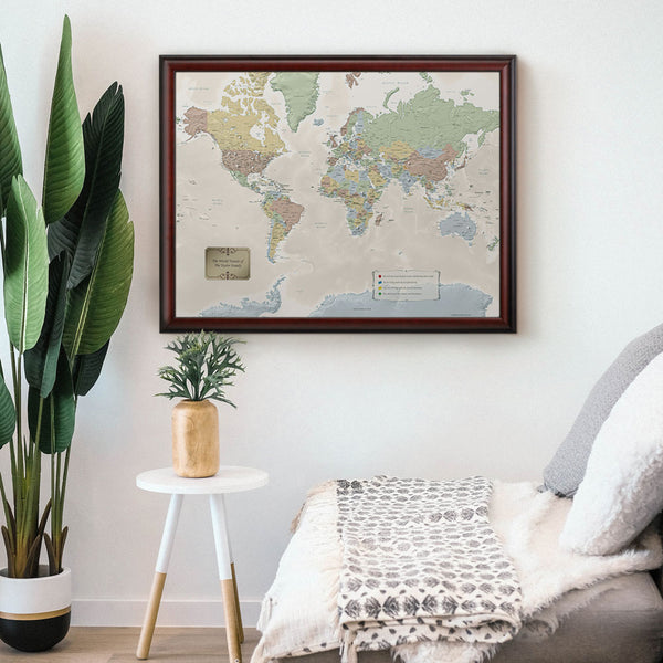 Personalized World Travel Quest Map