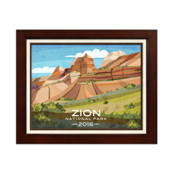 Zion National Park Print