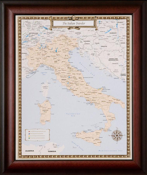 Italian Travel Quest Map