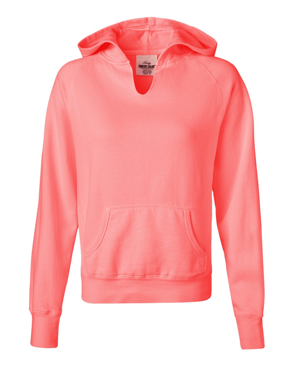 Monogrammed Ladies Hooded Comfort Colors Sweatshirt