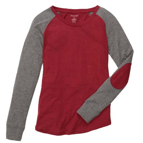 Softball Mom Preppy Elbow Patch Shirt
