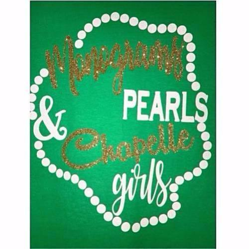 Chapelle Monograms & Pearls Shirt