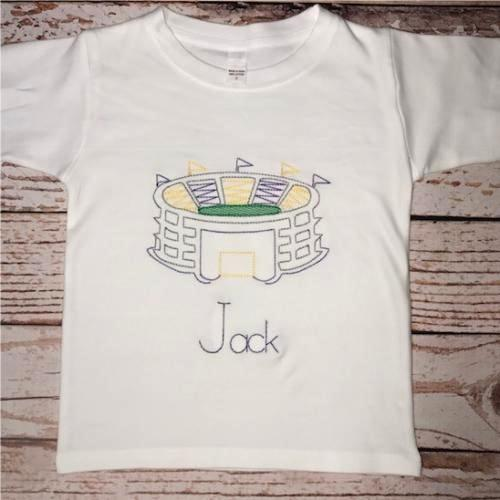 Boy's Personalized Stadium T-Shirt