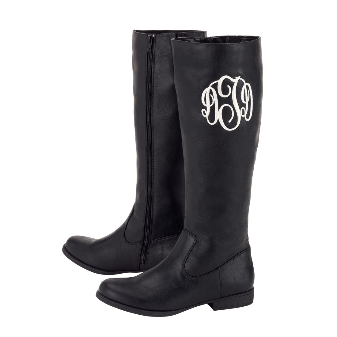 Monogrammed Boots