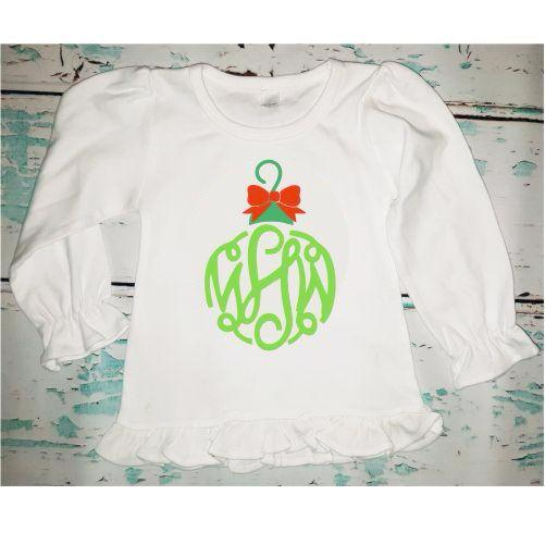 Personalized Monogrammed Girl