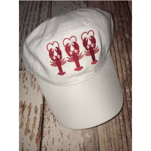 crawfish love baseball hat
