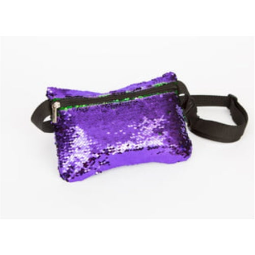 Sequin Mardi Gras Fanny Pack **BACKORDERED UNTIL FEBRUARY 1ST***