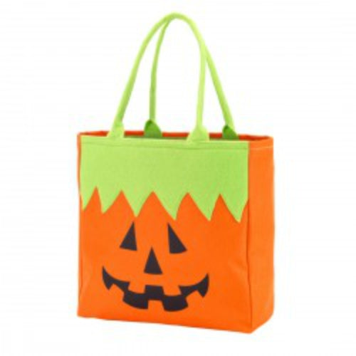 Monogrammed Halloween Treat Bag