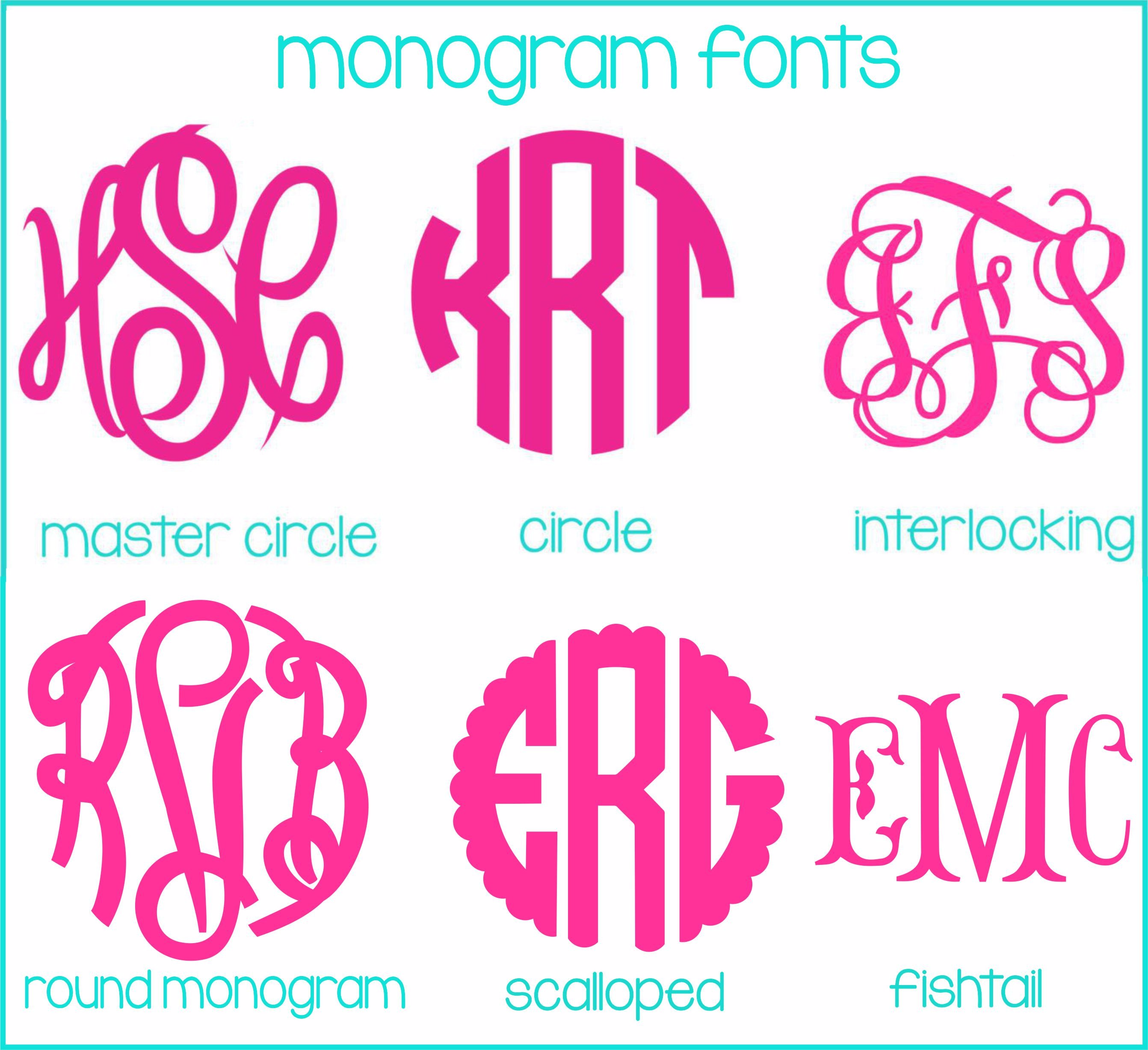 Monogrammed Car Mat Set- Preppy Pomegranate