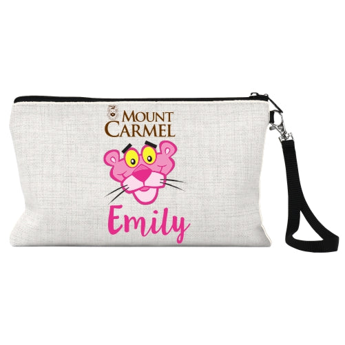 Personalized Mount Carmel Wristlet Bag