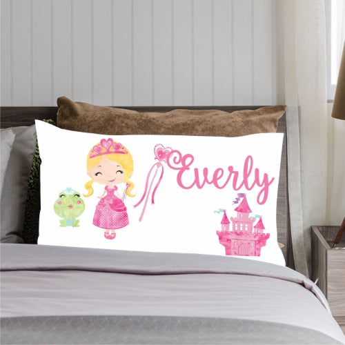 personalized princess pillowcase