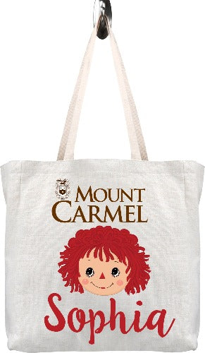 Personalized Mount Carmel Tote Bag