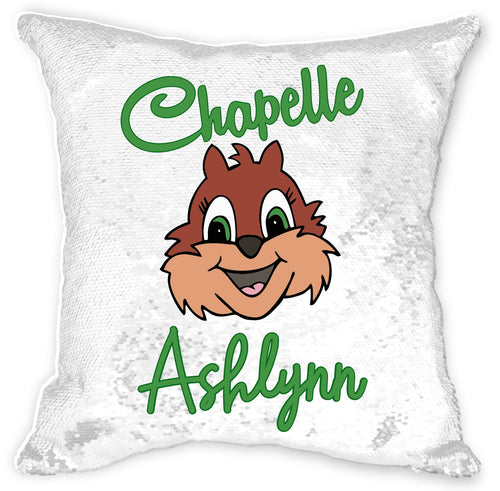 Personalized Chapelle Sequin Pillowcase