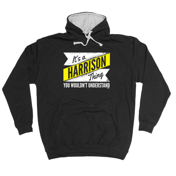123t Funny Tee - Harrison V2 Surname Thing -  Womens Fitted Cotton T-Shirt Top T Shirt