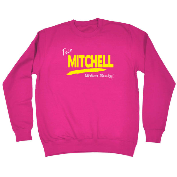 123t Funny Sweatshirt - Mitchell V1 Lifetime Member - Sweater Jumper