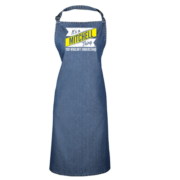123t Funny Vest - Mitchell V2 Surname Thing - Bella Singlet Top
