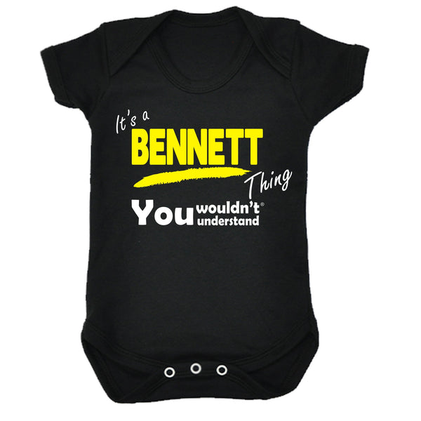 It's A Bennett Thing You Wouldn't Understand Babygrow