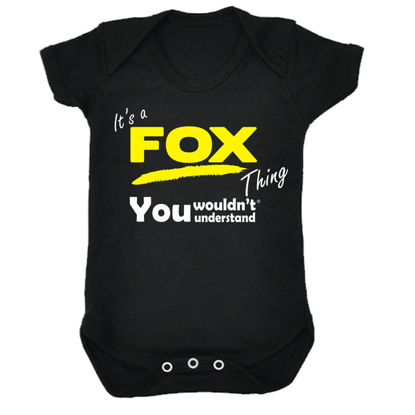 It's A Fox Thing You Wouldn't Understand Babygrow