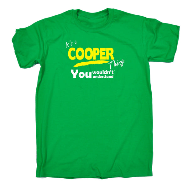 It's A Cooper Thing You Wouldn't Understand Premium KIDS T SHIRT Ages 3-13