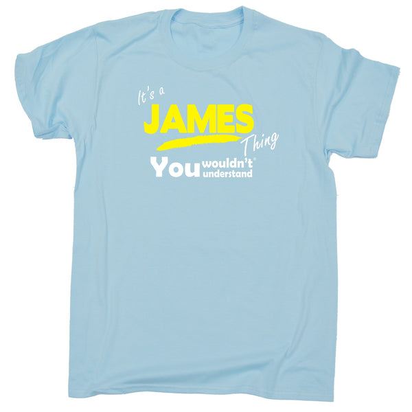 It's A James Thing You Wouldn't Understand Premium KIDS T SHIRT Ages 3-13