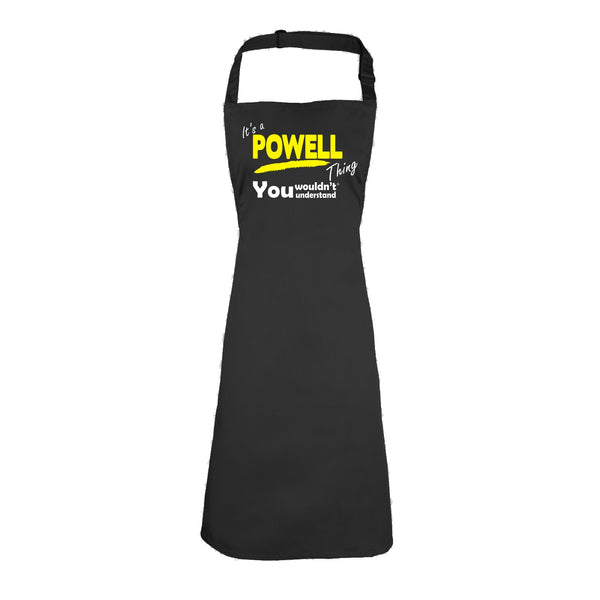It's A Powell Thing You Wouldn't Understand HEAVYWEIGHT APRON