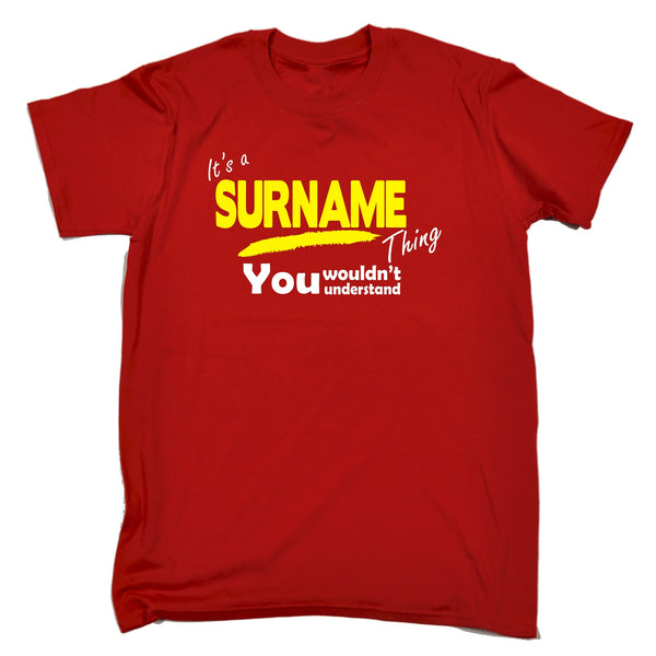 Custom Surname Thing You Wouldn't Understand Premium Kids T-Shirt Ages 3-13
