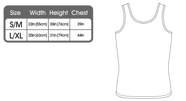 123t Funny Vest - Powell V1 Lifetime Member - Bella Singlet Top