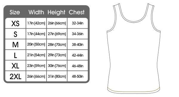 123t Funny Vest - Thompson V2 Surname Thing - Bella Singlet Top
